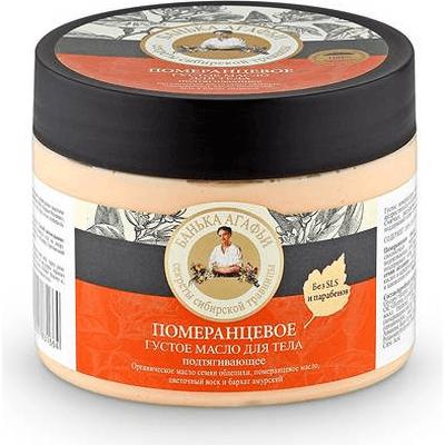 Podciągające gęste masło do ciała - Pomarańczowe Kąpiel Agafii Bania Agafii