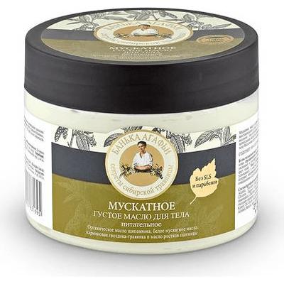 Odżywcze gęste masło do ciała - Muszkatołowe Kąpiel Agafii Bania Agafii
