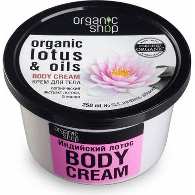 Mus do ciała - Indyjski lotos i 5 olejków Organic Shop