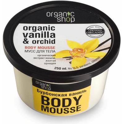Mus do ciała - Burbońska wanilia i orchidea Organic Shop
