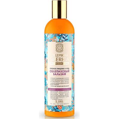 Oczyszczająca odżywka Rokitnikowa dla normalnych i przetłuszczających się włosów Natura Siberica Professional (Seria Rokitnikowa)