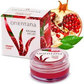 Orientana Balsam do ust - ekstrakty z owoców granatu i liczi