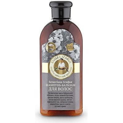 Szampon-balsam do włosów Biała Kąpiel Kąpiel Agafii Bania Agafii