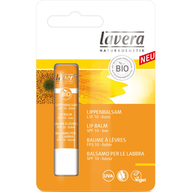 Lavera SUN Ochronny balsam do ust - masło shea i olej jojoba SPF 10