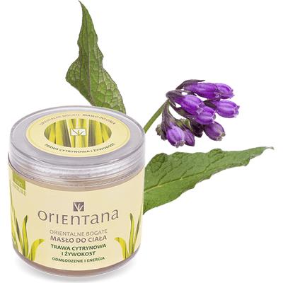 Bogate masło do ciała - Trawa cytrynowa i żywokost Orientana