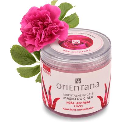 Bogate masło do ciała - Róża japońska i liczi Orientana