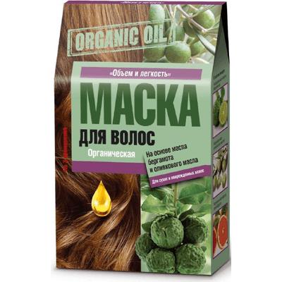 Organic Oil - Maska do włosów z olejkiem z bergamotki i oliwki Fitocosmetic