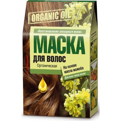 Organic Oil - Maska do włosów na bazie olejku jojoba Fitocosmetic
