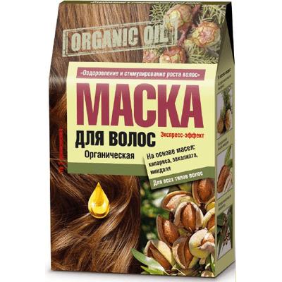 Organic Oil - Maska do włosów z olejkami z cyprysa eukaliptusa i migdała Fitocosmetic