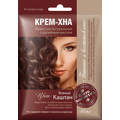 Kremowa henna z olejkiem łopianowym - Ciemny kasztan
