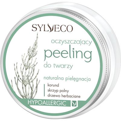 Oczyszczający peeling do twarzy Sylveco
