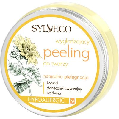 Wygładzający peeling do twarzy Sylveco