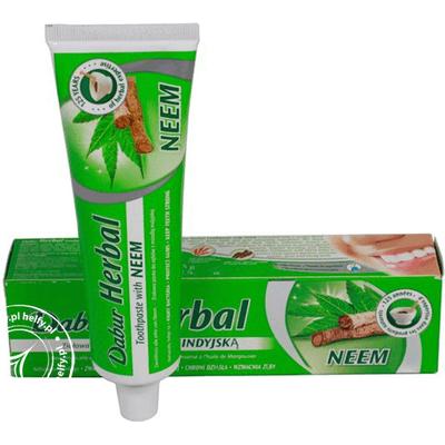 Pasta do zębów z ekstraktem z neem bez fluoru Dabur