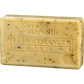 Mydło marsylskie z olejem ze słodkich migdałów - Kwiat pomarańczy