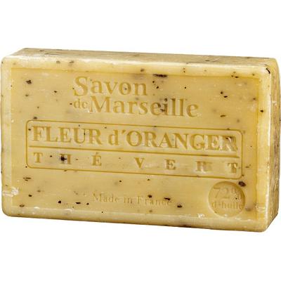 Mydło marsylskie z olejem ze słodkich migdałów - Kwiat pomarańczy Le Chatelard