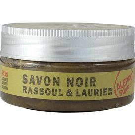 Aleppo Soap Czarne mydło savon noir z glinką rassoul i olejem laurowym, 140 g