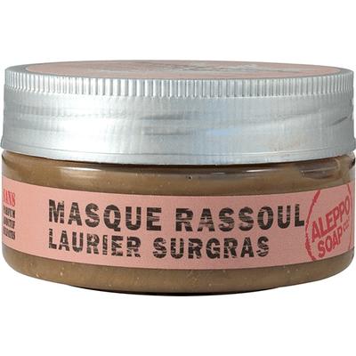 Maseczka z glinką rassoul i olejem laurowym Aleppo Soap