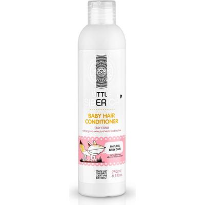 Odżywka do włosów dla dzieci ułatwiająca rozczesywanie - ekstrakt z fiołka i malwy Little Siberica