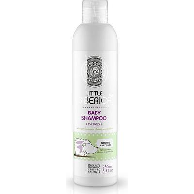Szampon dla dzieci ułatwiający rozczesywanie włosów - ekstrakt z fiołka i malwy Little Siberica