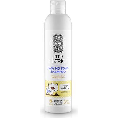 Szampon dla dzieci bez łez - ekstrakt z aloesu i lukrecji Little Siberica