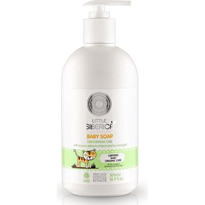 Mydło w płynie dla dzieci z ekstraktem z brzozy Little Siberica
