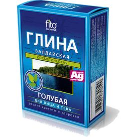 Fitocosmetic Błękitna glinka wałdajska ze srebrem 100 g