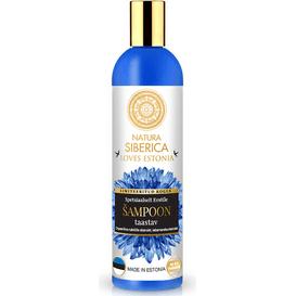 Regenerujący szampon do włosów - malina moroszka i chaber