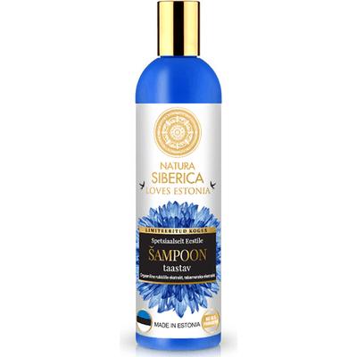 Regenerujący szampon do włosów - malina moroszka i chaber Natura Siberica Loves Estonia
