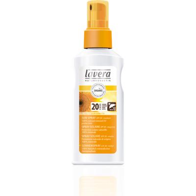 Spray przeciwsłoneczny - wyciąg z nagietka i oleju słonecznikowego SPF20 Lavera SUN