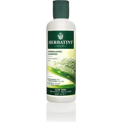 Normalizujący szampon aloesowy do włosów farbowanych Herbatint