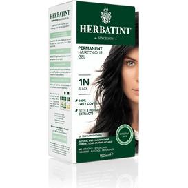 Herbatint Naturalna farba do włosów - Głęboka czerń 1N