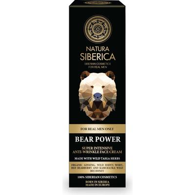 Krem przeciwzmarszczkowy - Siła Niedźwiedzia Natura Siberica