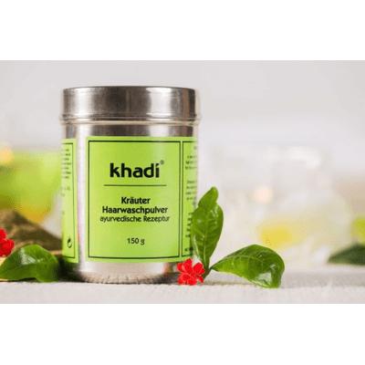 Peelingujący szampon do włosów w proszku Khadi