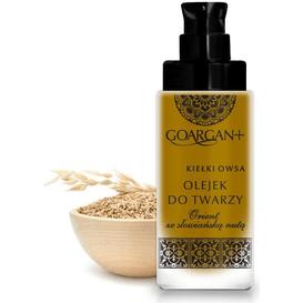 GoArgan Nawilżający olejek do twarzy - olej arganowy i olej z kiełków owsa