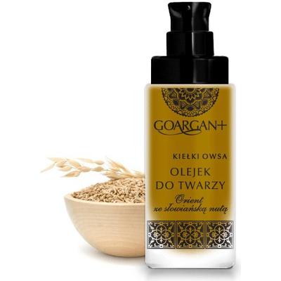 Nawilżający olejek do twarzy - olej arganowy i olej z kiełków owsa GoArgan