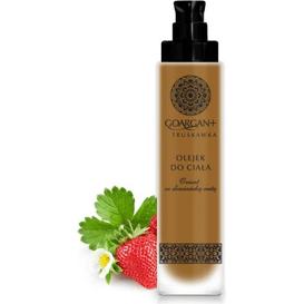 Odmładzający olejek do ciała - olej arganowy i olej z pestek truskawek
