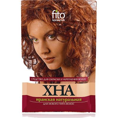 Henna irańska czerwona do wszystkich rodzajów włosów Fitocosmetic