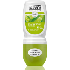 Lavera Dezodorant roll-on Lime Sensation z werbeną i limonką