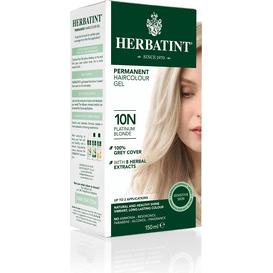 Herbatint Naturalna farba do włosów - Platynowy blond 10N