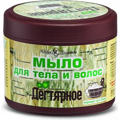 Dziegciowe mydło do ciała i włosów 2w1 Nevskaya Kosmetika