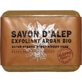 Mydło Aleppo peelingujące z olejem arganowym