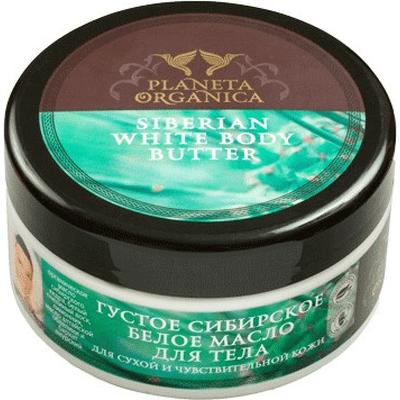 Syberyjskie białe masło do ciała dla skóry suchej i wrażliwej Planeta Organica