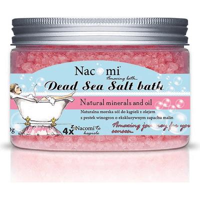 Sól z Morza Martwego malina Nacomi