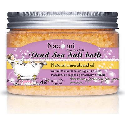 Sól z Morza Martwego pomarańcza-wanilia Nacomi