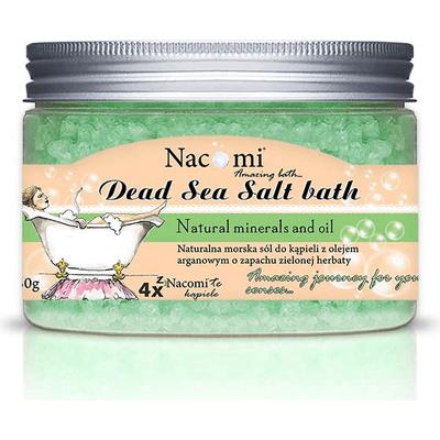 Sól z Morza Martwego zielona herbata Nacomi