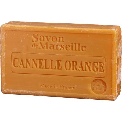Mydło marsylskie z olejem ze słodkich migdałów - Pomarańcza i cynamon Le Chatelard
