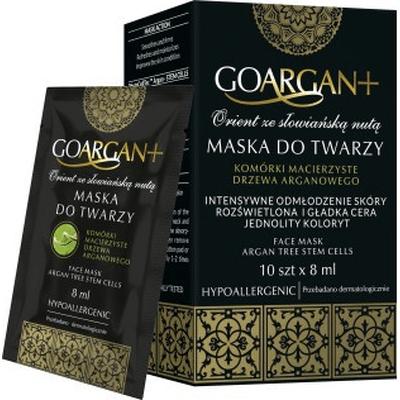 Maska do twarzy z komórkami macierzystymi drzewa arganowego GoArgan