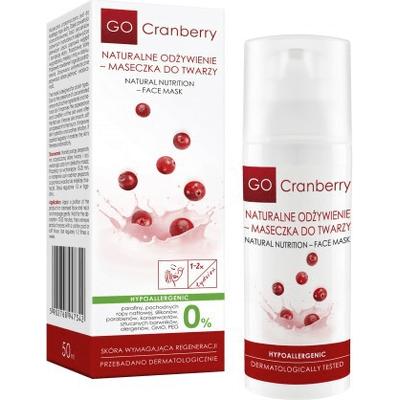 Maseczka do twarzy - Naturalne odżywienie GoCranberry