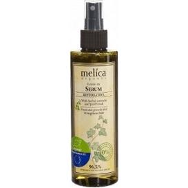 Melica Wzmacniające serum do włosów - kompleks olejków i pantenol