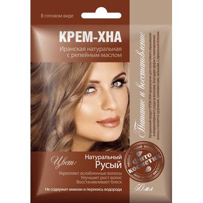 Kremowa henna z olejkiem łopianowym - Naturalny blond Fitocosmetic